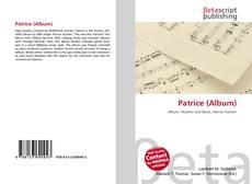 Patrice (Album)的封面