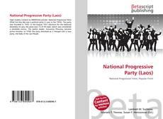 Bookcover of National Progressive Party (Laos)