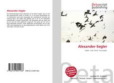 Copertina di Alexander-Segler