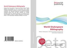 Buchcover von World Shakespeare Bibliography
