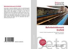 Portada del libro de Bahnbetriebswerk Krefeld