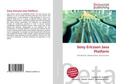 Bookcover of Sony Ericsson Java Platform