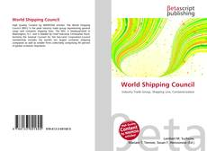 Bookcover of World Shipping Council