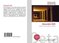 Buchcover von Alexander-Stift
