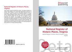 Bookcover of National Register of Historic Places, Virginia