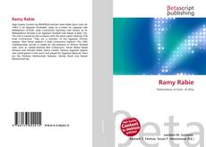 Bookcover of Ramy Rabie