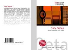Portada del libro de Tony Peyton