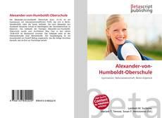 Buchcover von Alexander-von-Humboldt-Oberschule