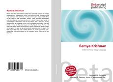Bookcover of Ramya Krishnan