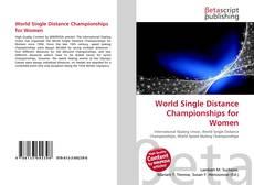 World Single Distance Championships for Women kitap kapağı