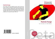 Capa do livro de Patrick Forge