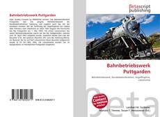 Bookcover of Bahnbetriebswerk Puttgarden