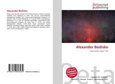 Buchcover von Alexander Bodisko