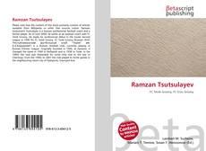 Buchcover von Ramzan Tsutsulayev