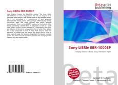 Buchcover von Sony LIBRIé EBR-1000EP