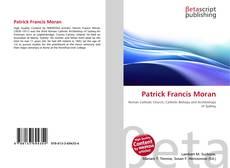 Patrick Francis Moran kitap kapağı