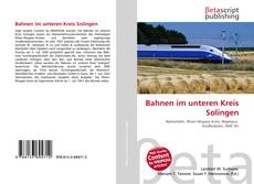 Обложка Bahnen im unteren Kreis Solingen
