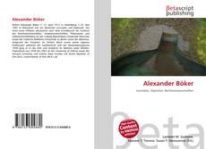 Обложка Alexander Böker