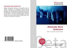 Alexander Boris Godunow kitap kapağı