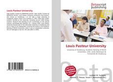 Couverture de Louis Pasteur University