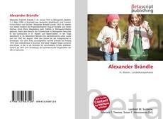 Portada del libro de Alexander Brändle
