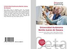 Borítókép a  Universidad Autónoma Benito Juárez de Oaxaca - hoz