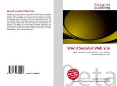 Bookcover of World Socialist Web Site