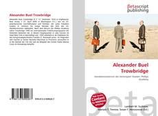 Обложка Alexander Buel Trowbridge