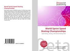 Обложка World Sprint Speed Skating Championships
