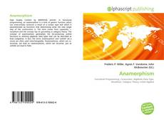 Bookcover of Anamorphism