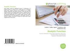Analytic Function的封面