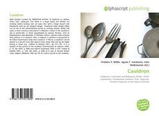 Cauldron kitap kapağı