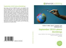 September 2010 Lahore Bombings的封面