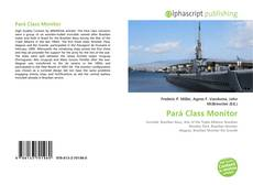 Обложка Pará Class Monitor