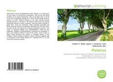 Capa do livro de Platanus