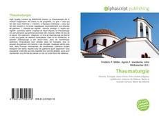 Couverture de Thaumaturgie