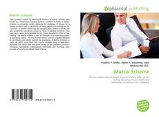 Bookcover of Matrix Scheme