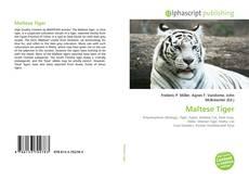 Bookcover of Maltese Tiger