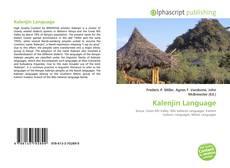 Kalenjin Language kitap kapağı