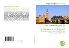 Bookcover of Architecture of England