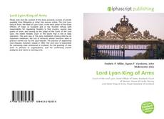 Bookcover of Lord Lyon King of Arms