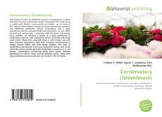 Capa do livro de Conservatory (Greenhouse)