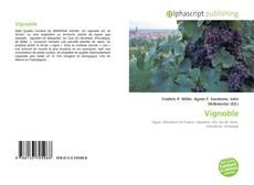 Bookcover of Vignoble