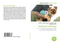 Bookcover of History of Tattooing