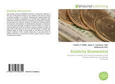 Bookcover of Elasticity (Economics)