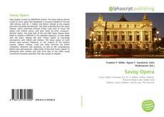 Savoy Opera kitap kapağı