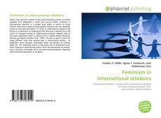 Bookcover of Feminism in international relations