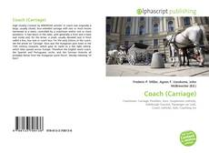 Bookcover of Coach (Carriage)