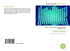 Bookcover of Luther Dixon