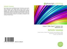 Bookcover of Artistic License